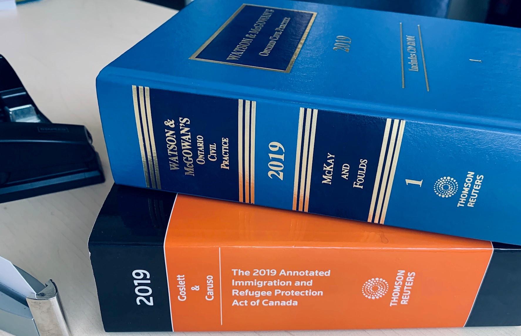 Immigration Law Textbooks